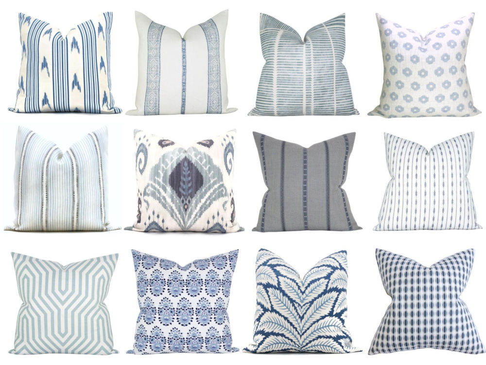 This image has an empty alt attribute; its file name is blue-and-white-pillows-2020-1.jpg