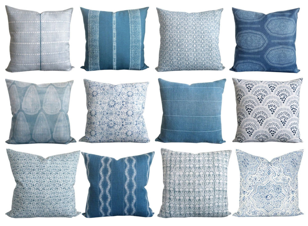 This image has an empty alt attribute; its file name is blue-and-white-pillows-2020-11.jpg